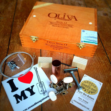 Oliva Serie O The Original Cigar Box Guitar Kit