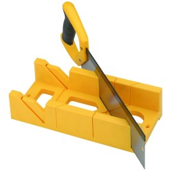 miter box and saw