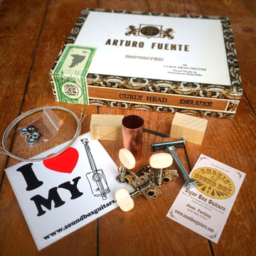 Arturo Fuente Cigar Box Guitar Kit