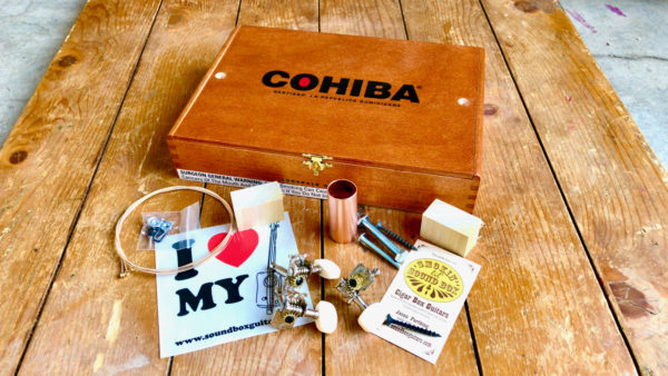 cohiba cigar box guitar kit